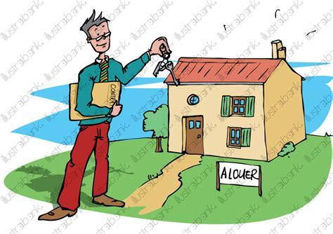 maison 224 louer illustration libre de droit sur