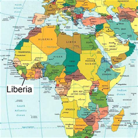 africa map liberia image gallery liberia africa map