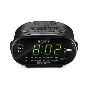 machine sony alarm clock sony icf c318 machine automatic time set alarm clock