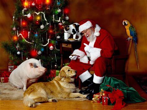 santa claus christmas wallpaper 2736281 fanpop