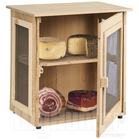 armadietto in legno armadietto legno ventilato per insaccati e formaggi