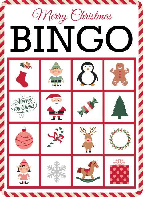 printable card games christmas bingo 10 free printable cards christmas