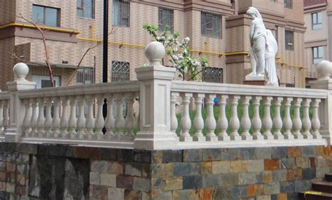 Backyard Grill Faridabad Decorative Grc Balustrades Grc Jali Manufacturer In