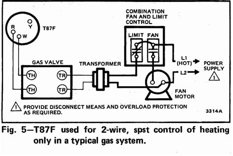 millivolt gas wiring diagram wiring diagrams