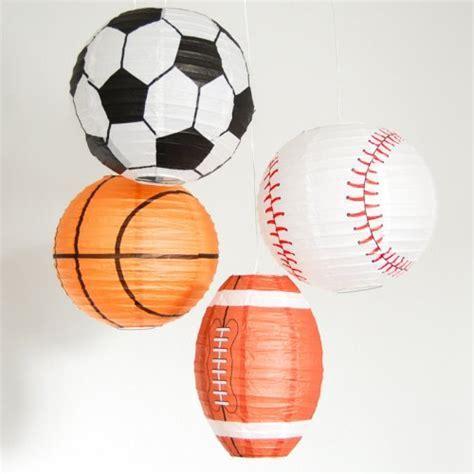 Paper Lanterns, Sports Paper Lanterns, Paper Sports Lanterns