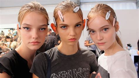 allure backstage prada spring 2015 allure backstage beauty video modtv