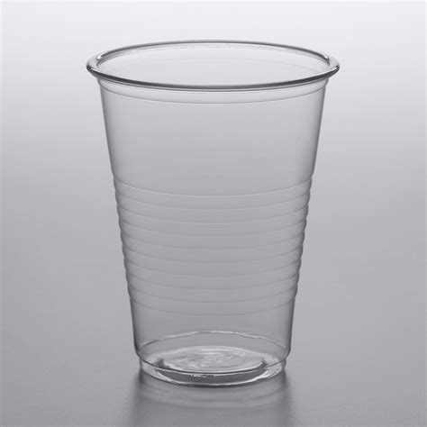choice  oz translucent thin wall plastic cold cup pack