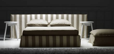 ghost bed double bed with removable cover ghost 81 by gervasoni