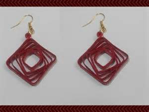 Paper Earrings Tutorial - quilling paper quilling earrings tutorial quilling