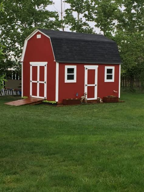 this really shed was built by paul who used 12x16