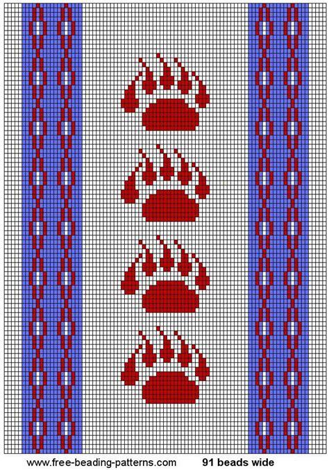 beading loom patterns free american printable american beading patterns images
