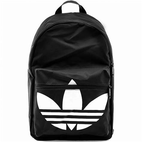 adidas backpack adidas backpack classic trefoil black white daypack