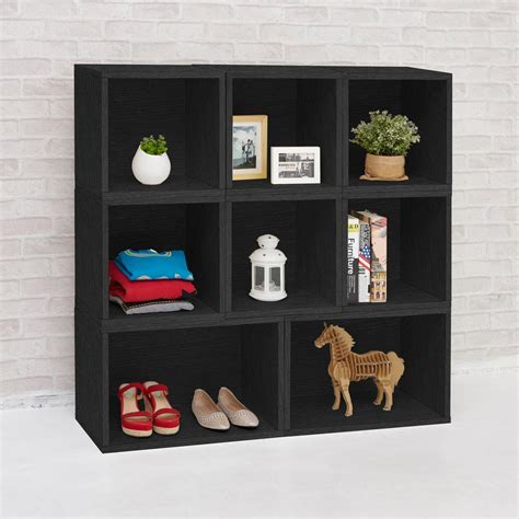 2 shelf bookcase black way basics deux 2 shelf narrow bookcase storage shelf in