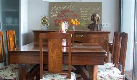 un comedor antiguo integrado en una cocina moderna - Decorar Comedor Antiguo