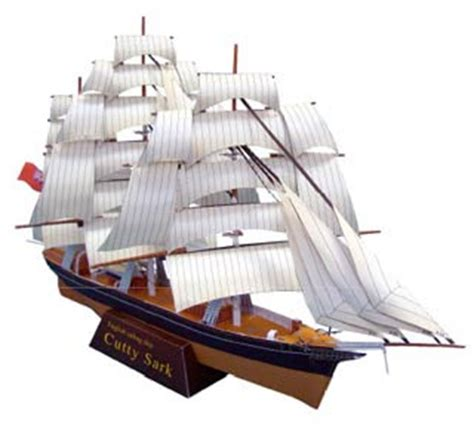 Papercraft Ships - sailing ship papercraft cutty sark paperkraft net