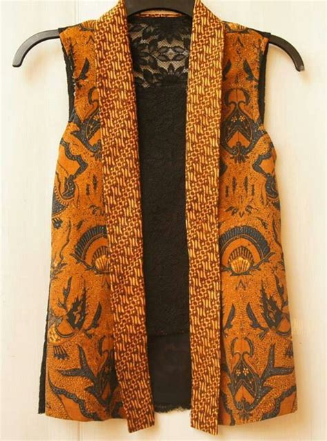 Atasan Jaket Blouse Tunik Vest Roundhand Sweater Baju Murah Tanah 43 best images about batik tenun on vests kebaya and ruffle top