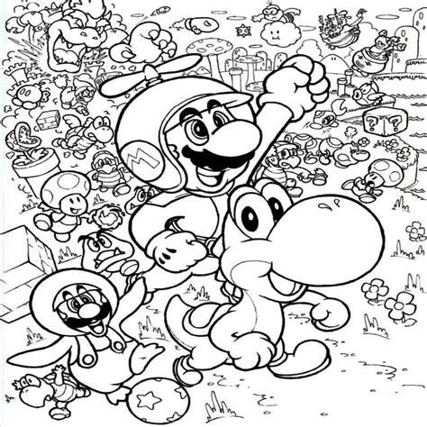 imagenes extrañas bonitas dibujos para colorear de mario bros para imprimir