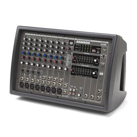 Mixer Audio Samson samson xml 910 12 channel powered mixer samson ex show