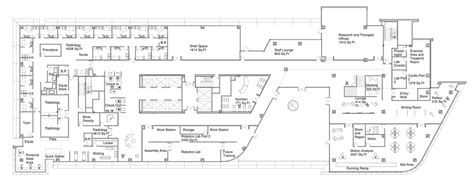 rehabilitation center floor plan spaulding rehabilitation center dandrea archinect