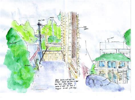 sketchbook gambar water colour