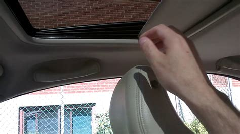 broken sunroof cover volvo  check  comments  fix  linked video youtube