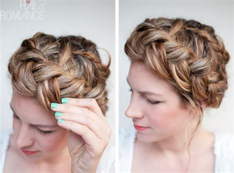 how to braid hair to hide it for a wig a twist on an old braid hair romance