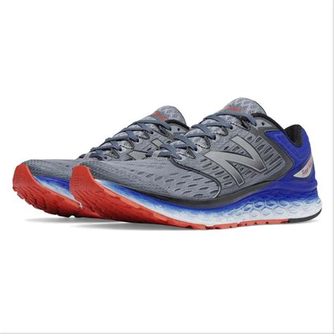 nb sports shoes new balance fresh foam 1080 sport shoes silver and blue