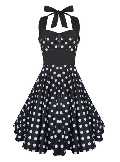rockabilly swing robe rockabilly vintage swing ashley black white polka