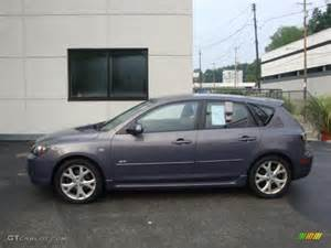2007 galaxy gray mica mazda mazda3 s touring hatchback