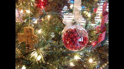 easy glass christmas ornament tutorial youtube