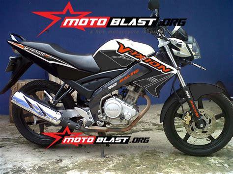 Striping Vixion modif striping vixion duke 150 motoblast