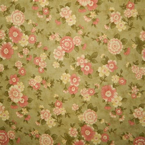 Fig Tree Quilts Fabric by Moda Fabric Cinnamon By Fig Tree Quilts Floral