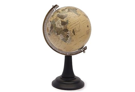 Small Desk Globe Small Desk Globe 6 Mini Spinning Desk Globe Antique Shading World Wood Base Stand Office Small