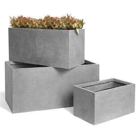 vasi rettangolari in plastica fioriere in plastica vasi e fioriere tipologie di