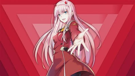 Anime Zero Two by Anime Wallpaper Zero Two 002 V 2 By Apriliusrehnzzz On