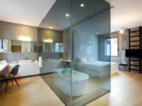 glass dividers in bathroom interesting interior idea