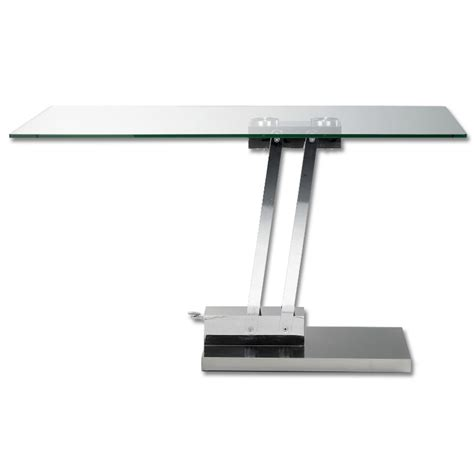 glass top adjustable height desk adjustable height coffee table uk adjustable height