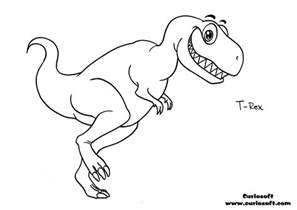 rex head colouring pages