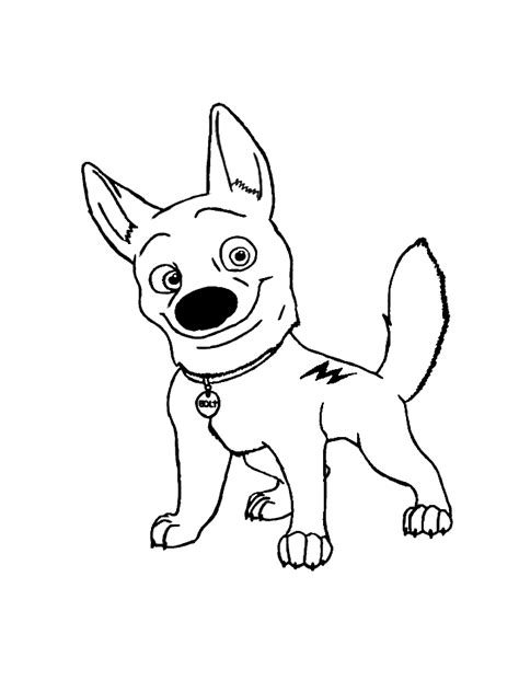coloring pages of bolt the disney bolt coloring pages coloring pages