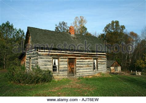 homesteader s cabin v 2 updated free house plan tiny old rustic homesteader s log cabin stock photo royalty
