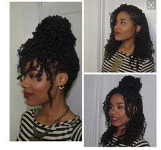 using twist in mohican roller set natural hair african american hairstyles