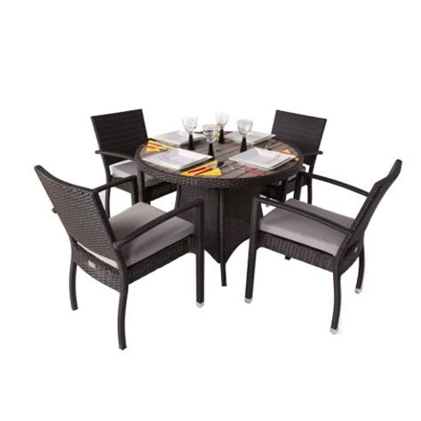 tesco direct bedroom furniture clearance www redglobalmx org buy brackenstyle diego round rattan dining set with arm