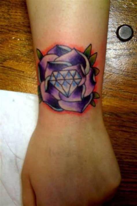 tattoo diamond flower 40 wrist cover up tattoos