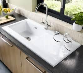 Luxurious white ceramic kitchen sink 352994 home design ideas