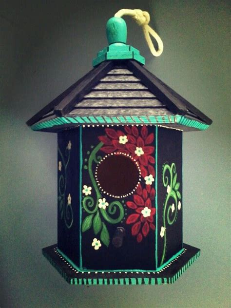 house crafts for painted birdhouse 169 crafts n ideas