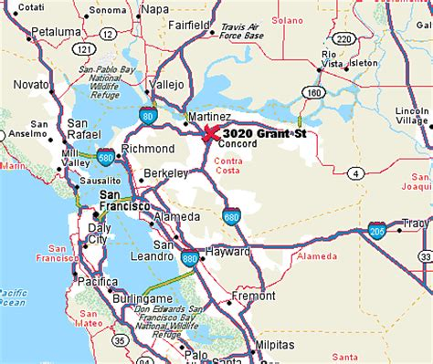 Concord Ca by Driving Directions To George Miller Center In Concord