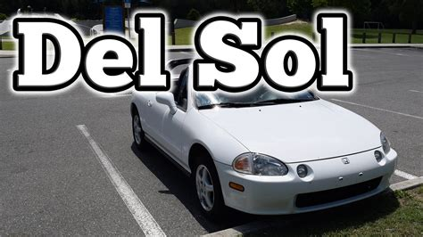 how to learn about cars 1995 honda del sol parking system regular car reviews 1995 honda del sol youtube