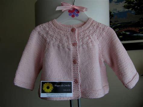 magiadocrochet blogspot magia do crochet casaco em tricot para beb 233