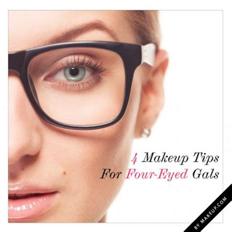 Tuesday Tutorial 4 Makeup Tips For Four Eyed Gals | tuesday tutorial 4 makeup tips for four eyed gals weddbook