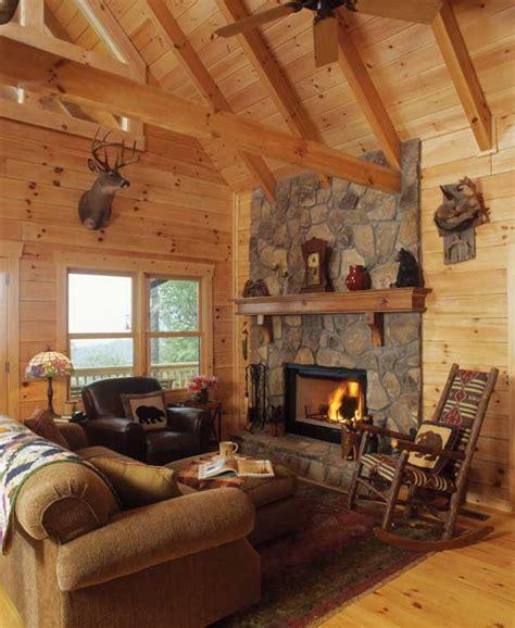 georgia log cabin  big views   small footprint